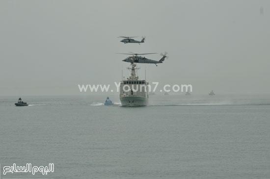 وحدات القوات البحرية تشارك فى التدريب المصرى البحرينى حمد 1  -اليوم السابع -5 -2015