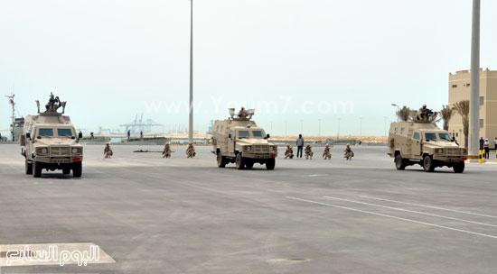 عناصر القوات المسلحة المصرية البحرينية تختتم فعاليات التدريب المترك حمد 1  -اليوم السابع -5 -2015
