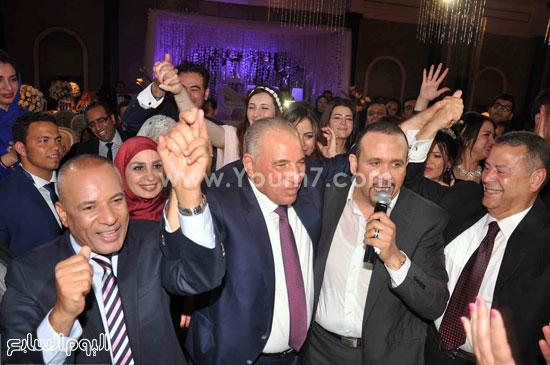 المستشار أحمد الزند مع هشام عباس والإعلامى أحمد موسى -اليوم السابع -5 -2015