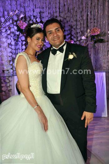 العروسان..هند وشريف -اليوم السابع -5 -2015