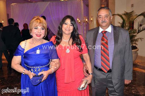 الفنانة فادية عبد الغنى والحضور -اليوم السابع -5 -2015