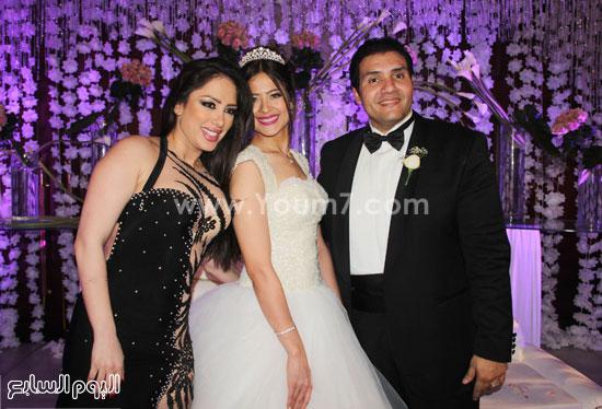 إليسار مع العروسين  -اليوم السابع -5 -2015
