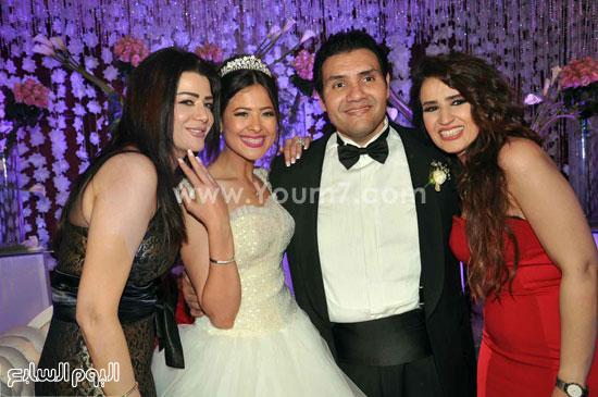 العروسان وصديقتا العروس -اليوم السابع -5 -2015