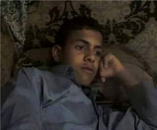 الطالب المتوفى سالم على مبارك -اليوم السابع -5 -2015