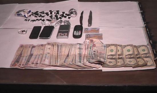ضبط 18 عاطلا بحوزتهم مخدرات وأسلحة فى القليوبية (1)