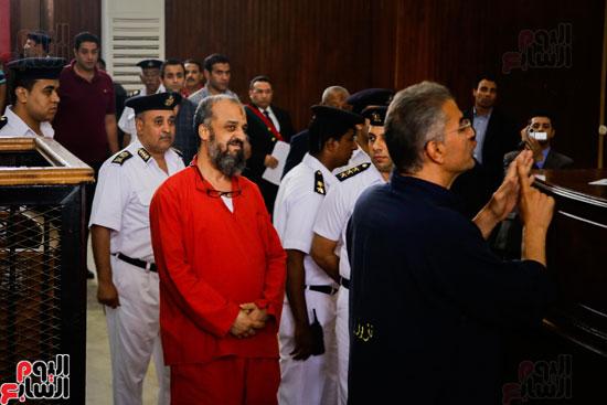 1محاكمة المتهمين فى فض اعتصام رابعة (18)