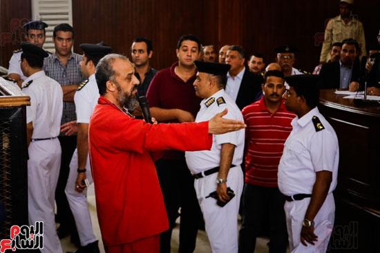1محاكمة المتهمين فى فض اعتصام رابعة (19)