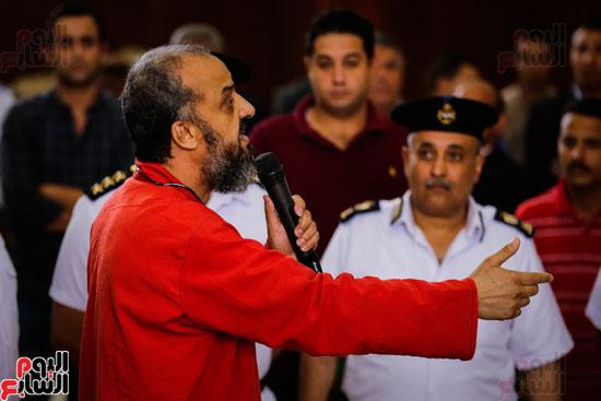 1محاكمة المتهمين فى فض اعتصام رابعة (20)