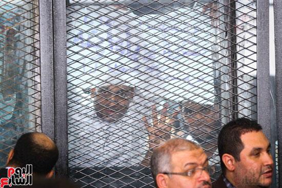 1محاكمة المتهمين فى فض اعتصام رابعة (21)