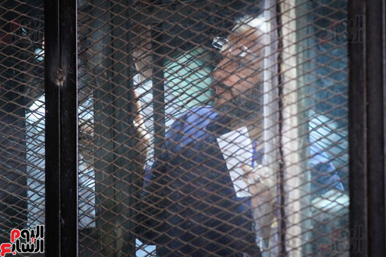 1محاكمة المتهمين فى فض اعتصام رابعة (22)