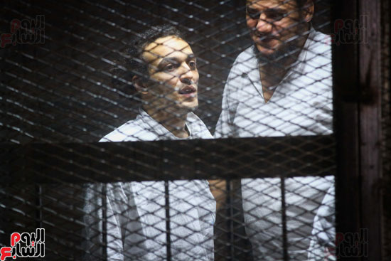 1محاكمة المتهمين فى فض اعتصام رابعة (23)