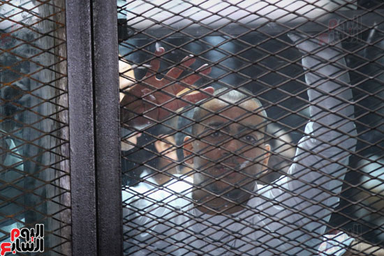 1محاكمة المتهمين فى فض اعتصام رابعة (25)