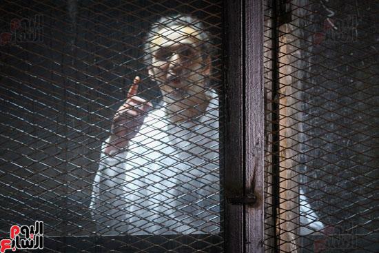 1محاكمة المتهمين فى فض اعتصام رابعة (26)