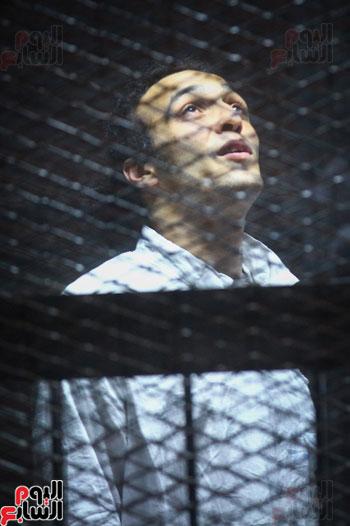 1محاكمة المتهمين فى فض اعتصام رابعة (27)