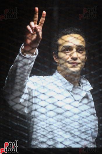 1محاكمة المتهمين فى فض اعتصام رابعة (28)