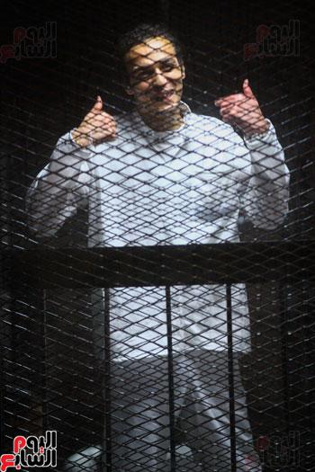 1محاكمة المتهمين فى فض اعتصام رابعة (30)