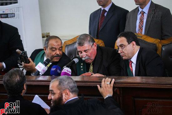 1محاكمة المتهمين فى فض اعتصام رابعة (33)