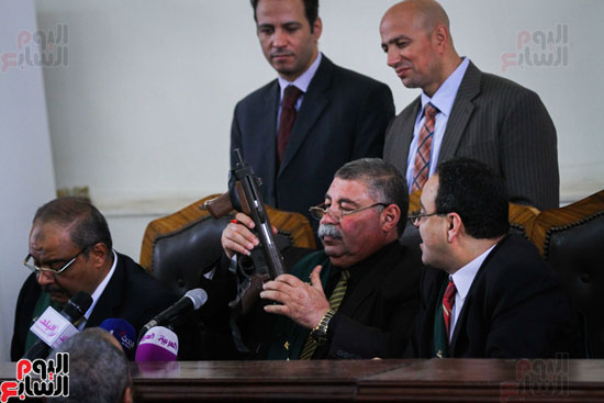 1محاكمة المتهمين فى فض اعتصام رابعة (34)