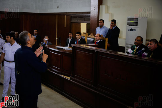1محاكمة المتهمين فى فض اعتصام رابعة (35)