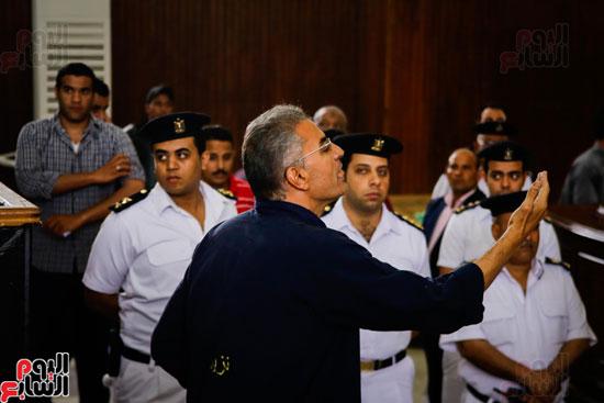 1محاكمة المتهمين فى فض اعتصام رابعة (36)