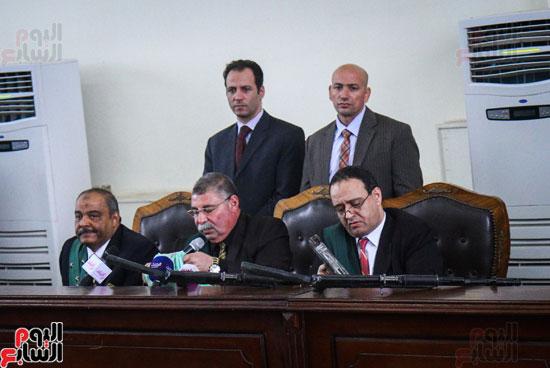 1محاكمة المتهمين فى فض اعتصام رابعة (37)