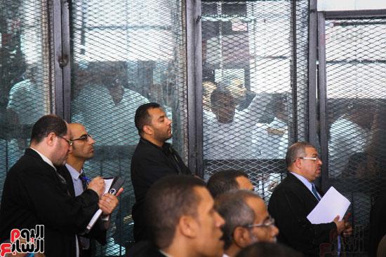 1محاكمة المتهمين فى فض اعتصام رابعة (38)