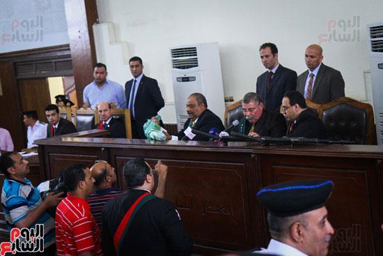 1محاكمة المتهمين فى فض اعتصام رابعة (39)