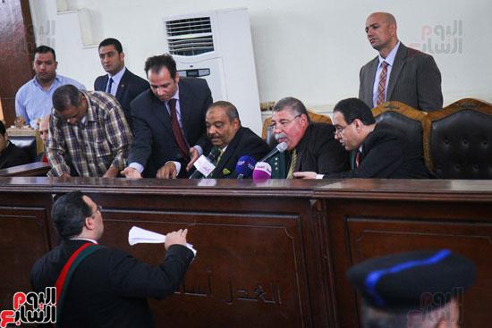 1محاكمة المتهمين فى فض اعتصام رابعة (40)