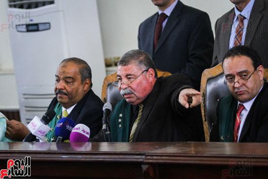 1محاكمة المتهمين فى فض اعتصام رابعة (42)