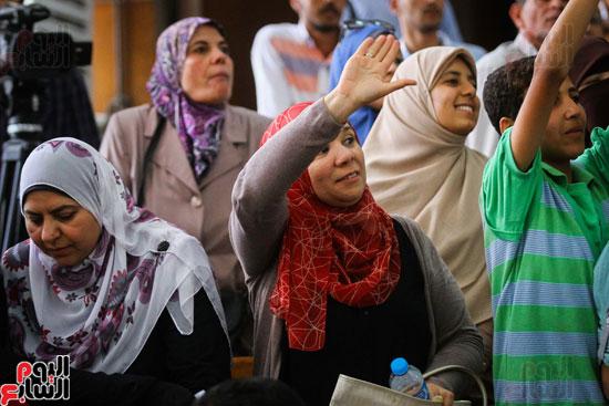 1محاكمة المتهمين فى فض اعتصام رابعة (43)