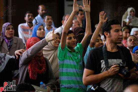 1محاكمة المتهمين فى فض اعتصام رابعة (44)