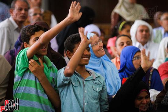 1محاكمة المتهمين فى فض اعتصام رابعة (46)