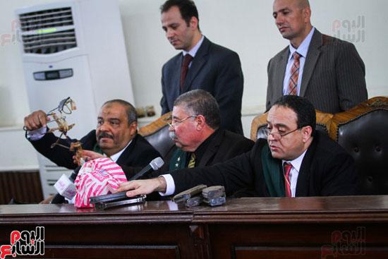 1محاكمة المتهمين فى فض اعتصام رابعة (47)