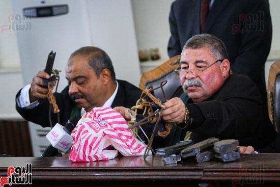 1محاكمة المتهمين فى فض اعتصام رابعة (48)
