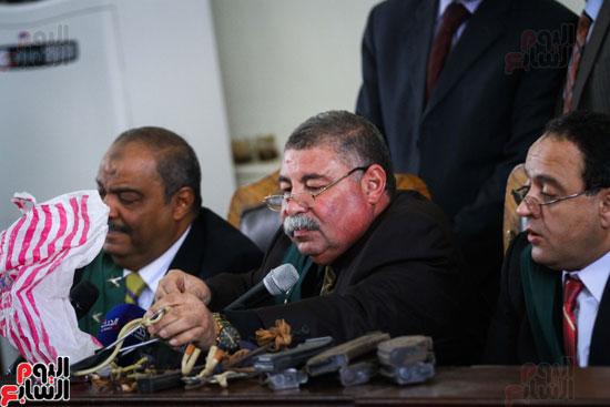 1محاكمة المتهمين فى فض اعتصام رابعة (49)
