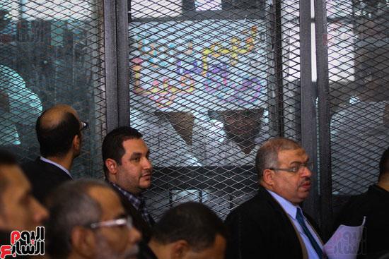 1محاكمة المتهمين فى فض اعتصام رابعة (50)