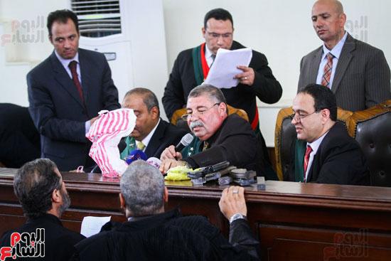 1محاكمة المتهمين فى فض اعتصام رابعة (51)