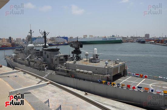 التدريب البحرى المشترك مصر واليونان (1)