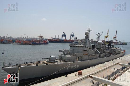 التدريب البحرى المشترك مصر واليونان (2)