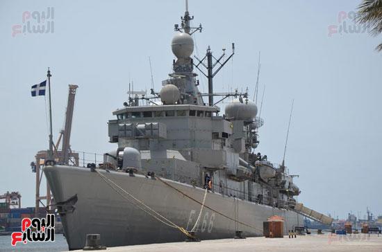 التدريب البحرى المشترك مصر واليونان (3)