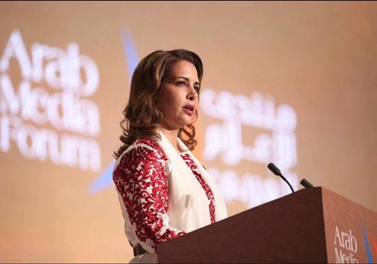 محمد بن راشد ، دبي،  المنتدى الإعلامى العربى ، الإمارات (1)
