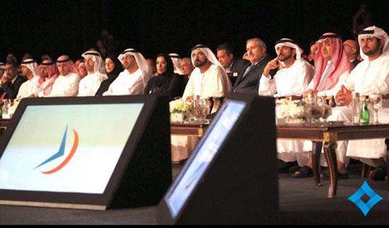 محمد بن راشد ، دبي،  المنتدى الإعلامى العربى ، الإمارات (3)