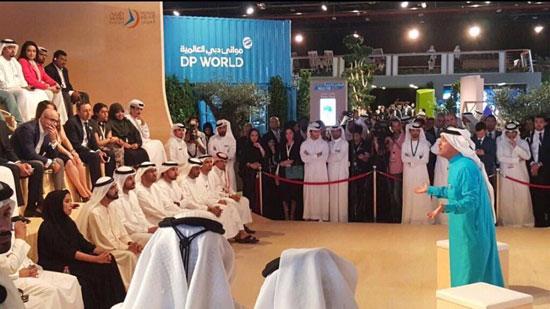 محمد بن راشد ، دبي،  المنتدى الإعلامى العربى ، الإمارات (4)
