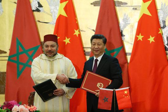محمد السادس العاهل المغربى يصل بكين فى زيارة رسمية للصين (3)