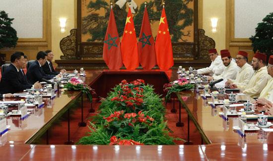 محمد السادس العاهل المغربى يصل بكين فى زيارة رسمية للصين (5)
