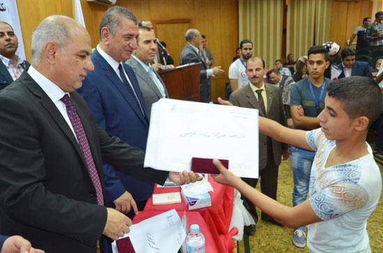 جامعة كفر الشيخ تشهد مؤتمر الحلم لذوى الاحتياجات الخاصة (1)