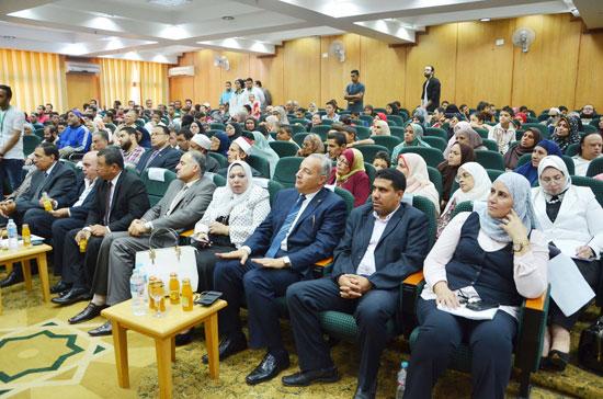 جامعة كفر الشيخ تشهد مؤتمر الحلم لذوى الاحتياجات الخاصة (2)
