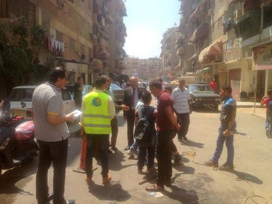 جانب من زيارة رئيس شركة المياه لمحطات  بورسعيد (1)