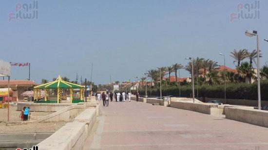 حملة مكبرة لمنع دخول الدواب والدراجات البخارية بشاطئ بورسعيد (2)