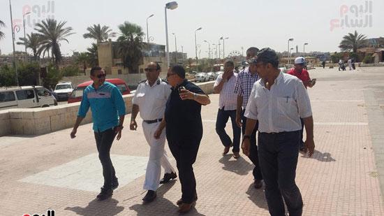 حملة مكبرة لمنع دخول الدواب والدراجات البخارية بشاطئ بورسعيد (5)